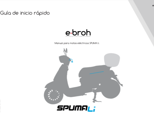 Manual usuarios motos elec EBROH Spuma Li ES
